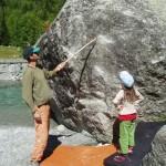 Boulderunterricht wie anno dazumal