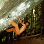 "Nils bouldert ""Oscurità"" (7c)"