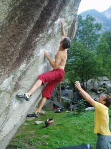 """Ein Versuch im """"Tarzan"""" (Fb 7b)"""
