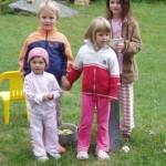 Silja, Anne, Elias, Martina