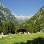 Unser Campingplatz im Val Masino