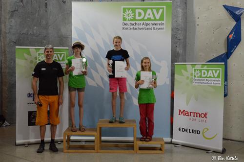 Siegerehrung Jugend C Weiblich; Foto: Ben Kettels