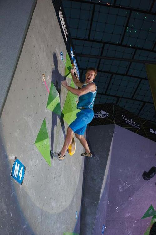 Alexej Rubtsov - mental einer der stärksten Wettkampfkletterer der Welt
